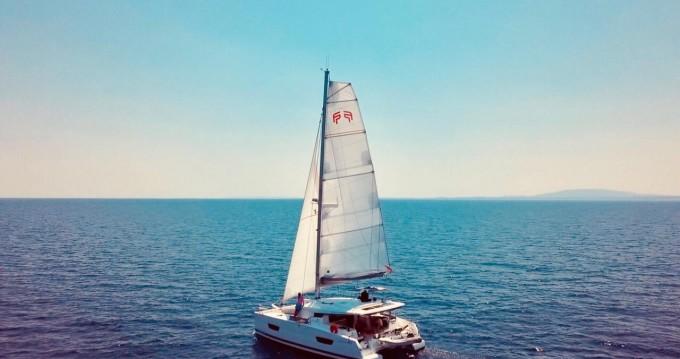 Rental yacht Ibiza Town - Fountaine Pajot Lucia 40 on SamBoat