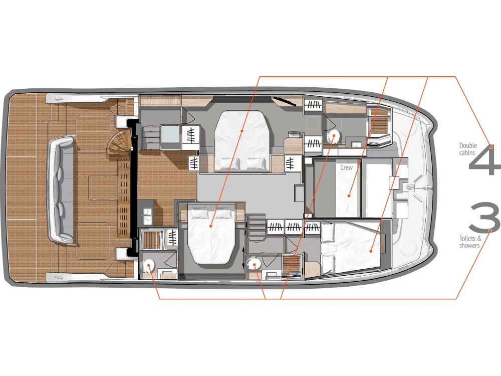 Fountaine Pajot Fountaine Pajot MY 44 between personal and professional