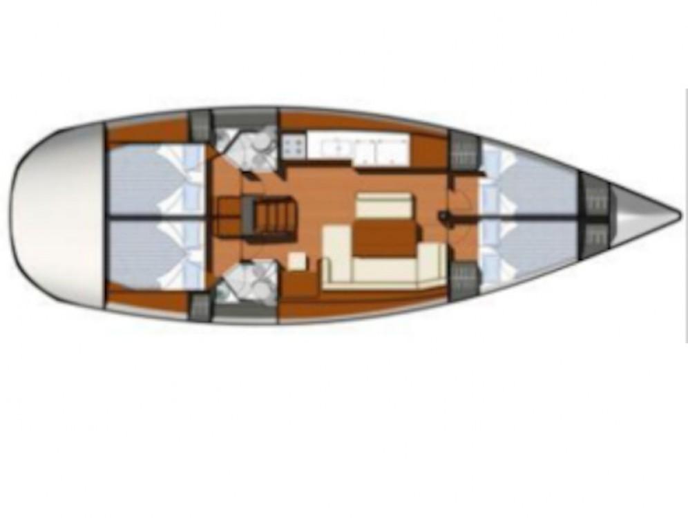 Rental yacht Sukošan - Jeanneau Sun Odyssey 44i on SamBoat