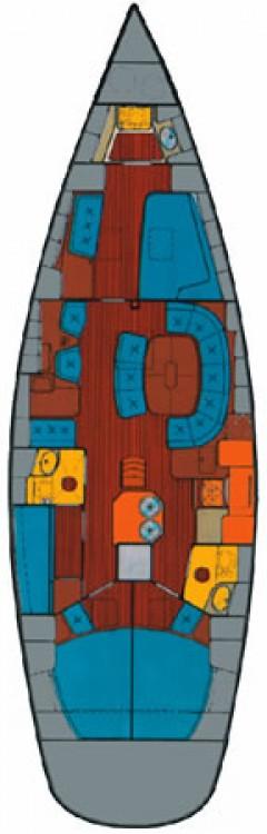 Boat rental Sukošan cheap Bavaria Cruiser 51