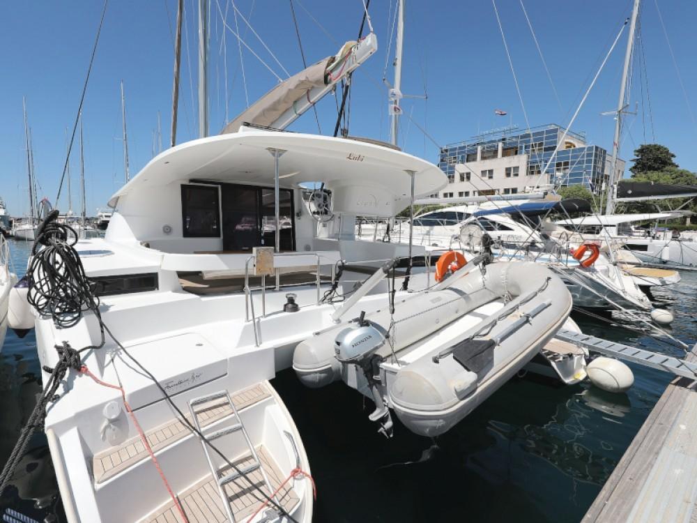Rental Catamaran in Zadar - Fountaine Pajot Lipari 41