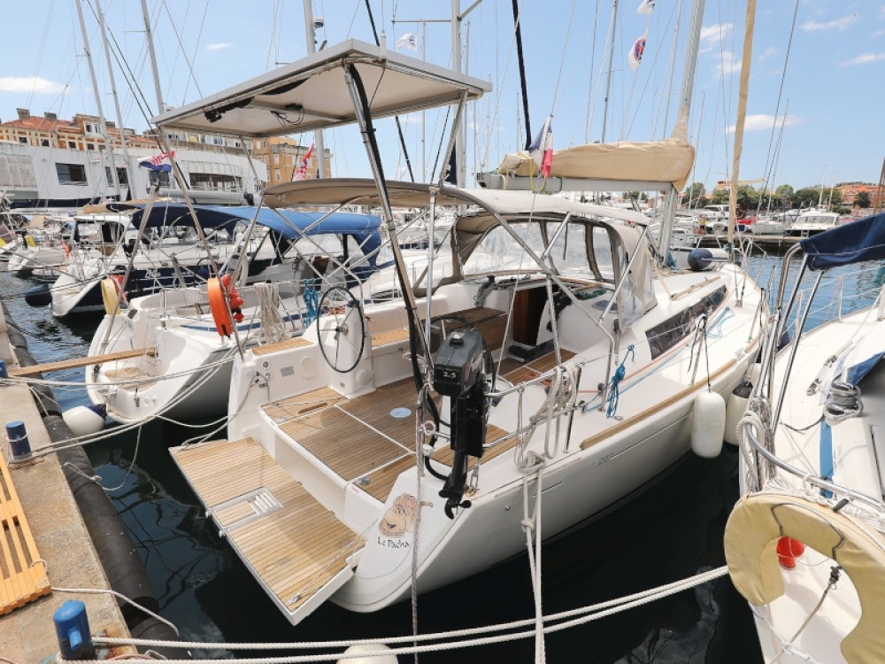 Dufour Dufour 380 between personal and professional Marina Zadar