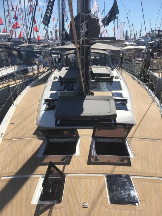 Boat rental Olbia cheap Dufour 56 Exclusive