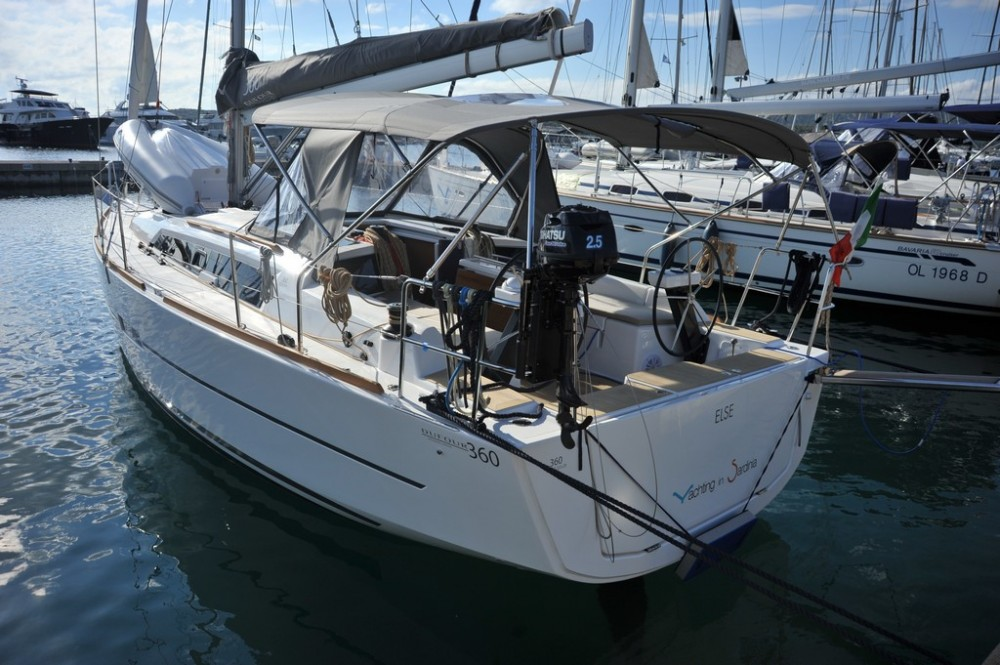 Rental yacht Olbia - Dufour Dufour 360 GL on SamBoat