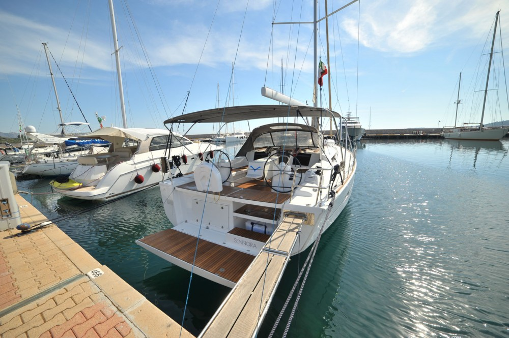 Dufour Dufour 460 Grand Large between personal and professional Marina di Portisco