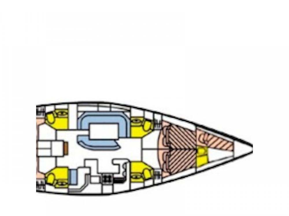 Rental Sailboat in Vodice - Jeanneau Sun Odyssey 52.2
