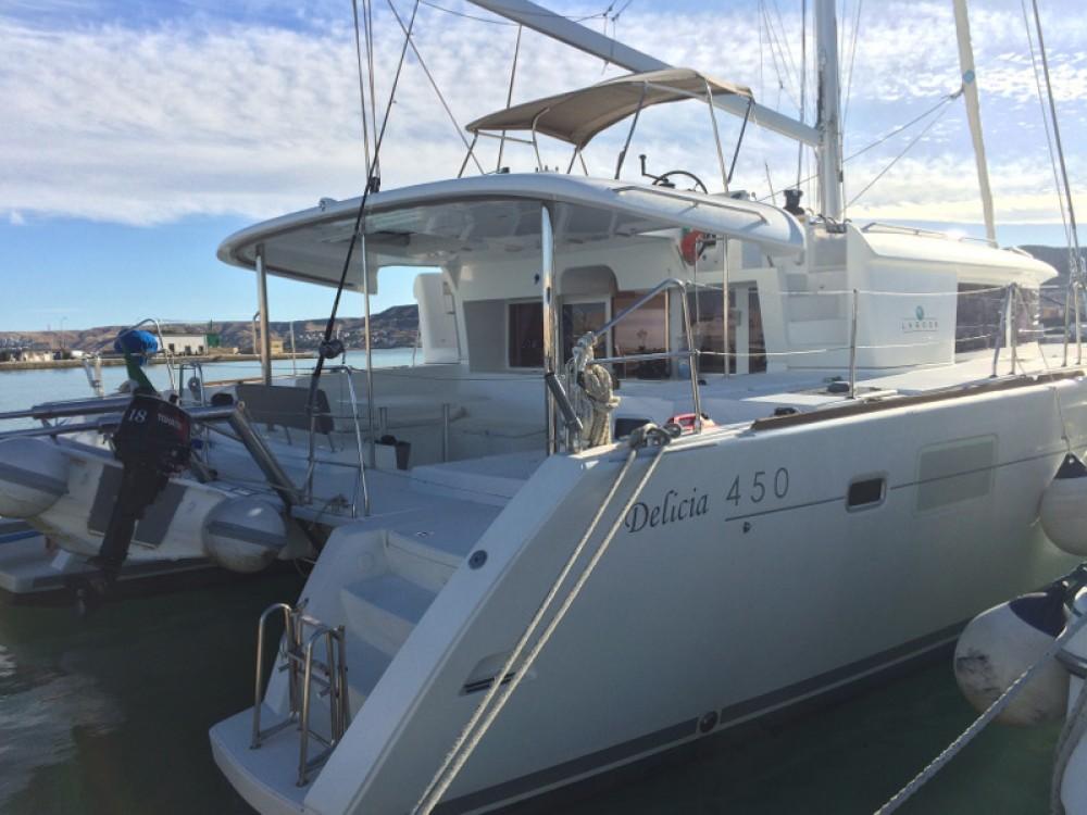 Boat rental Torre del Greco cheap Lagoon 450