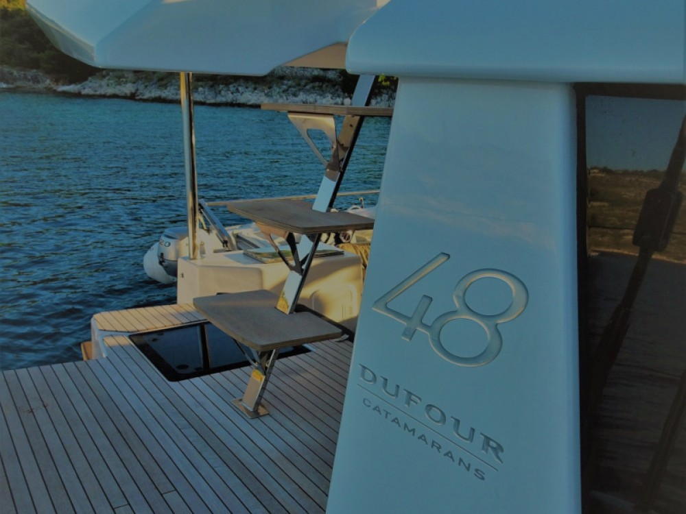 Hire Catamaran with or without skipper Dufour Primošten