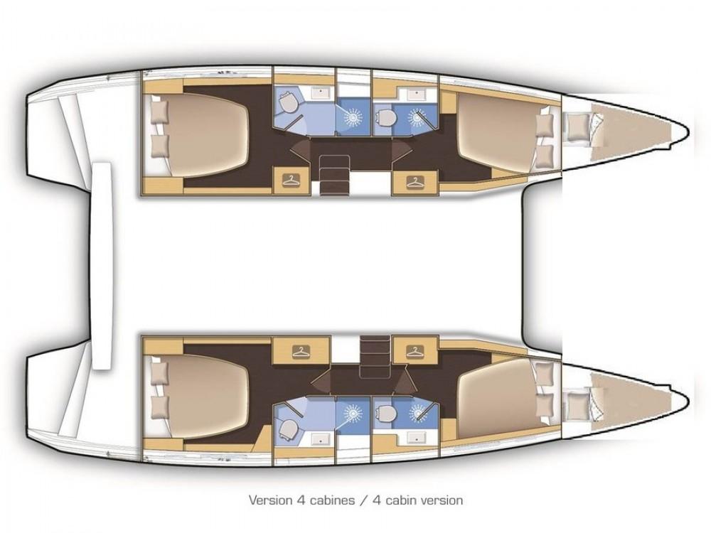Rental yacht Kaštel Gomilica - Lagoon Lagoon 42 on SamBoat