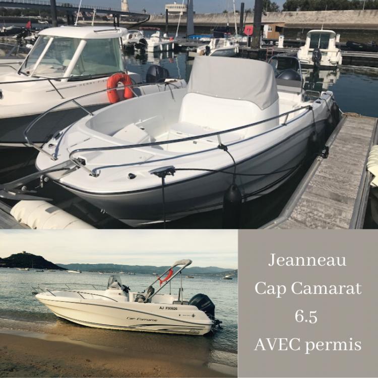 Rental yacht Belvédère-Campomoro - Jeanneau Cap Camarat 6.5 CC Style on SamBoat
