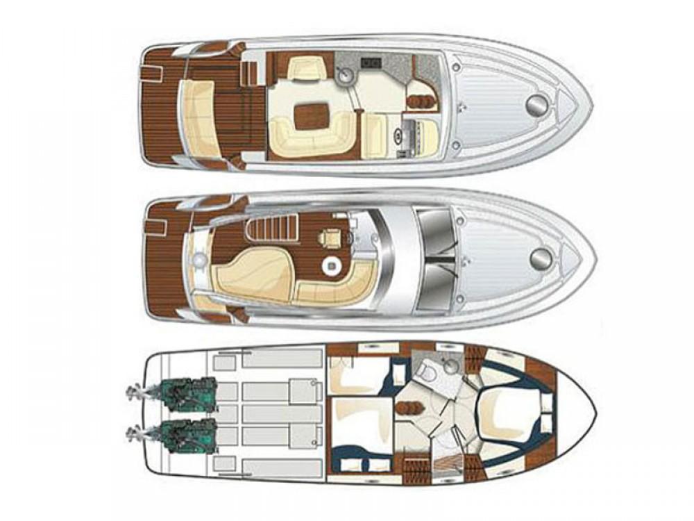 Boat rental Pirovac cheap Galeon 390 Fly