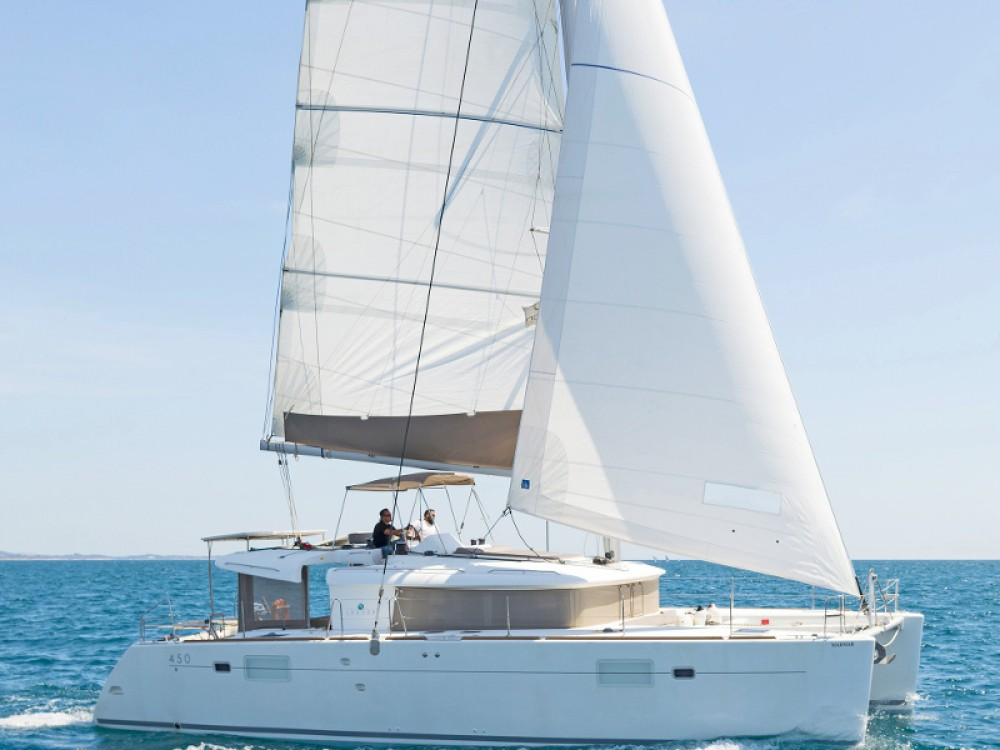 Boat rental Álimos cheap Lagoon 450