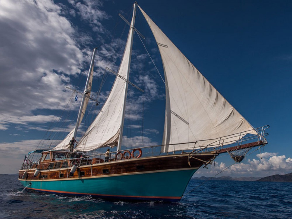 Hire Sailboat with or without skipper  Kontokali