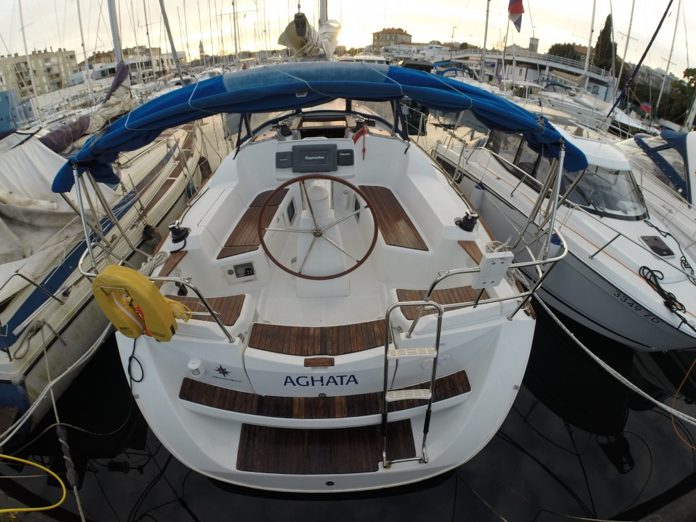 Jeanneau Sun Odyssey 36i between personal and professional Marina Zadar