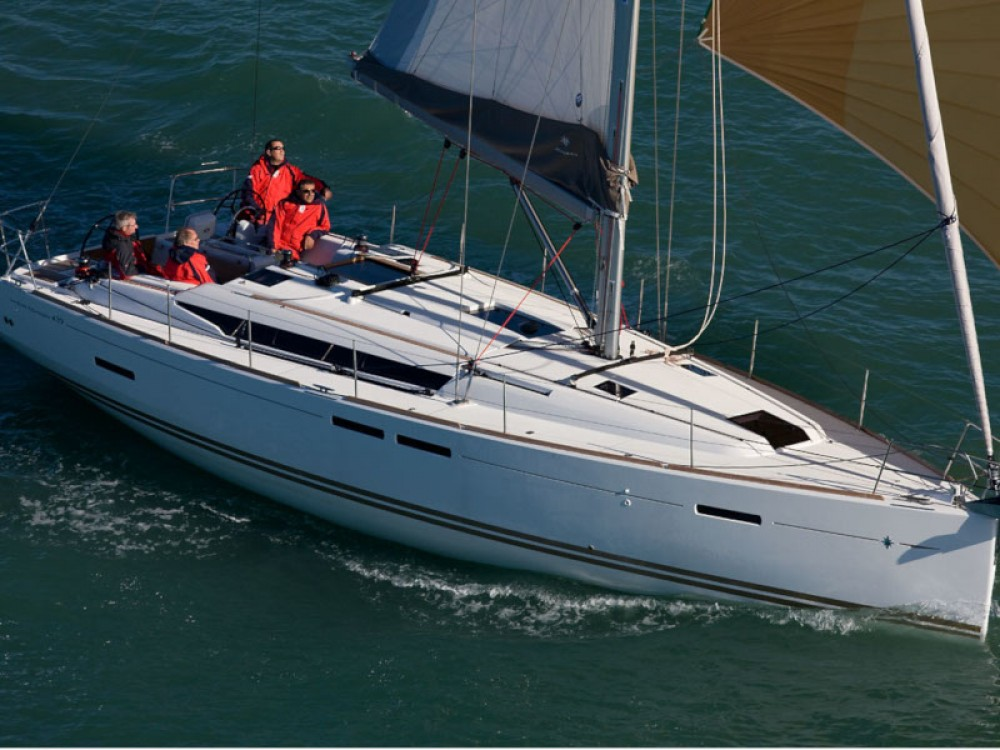 Rental yacht  - Jeanneau Sun Odyssey 439 on SamBoat