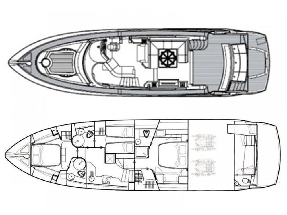 Rental Yacht in Šibenik - Sunseeker Sunseeker Manhattan 60