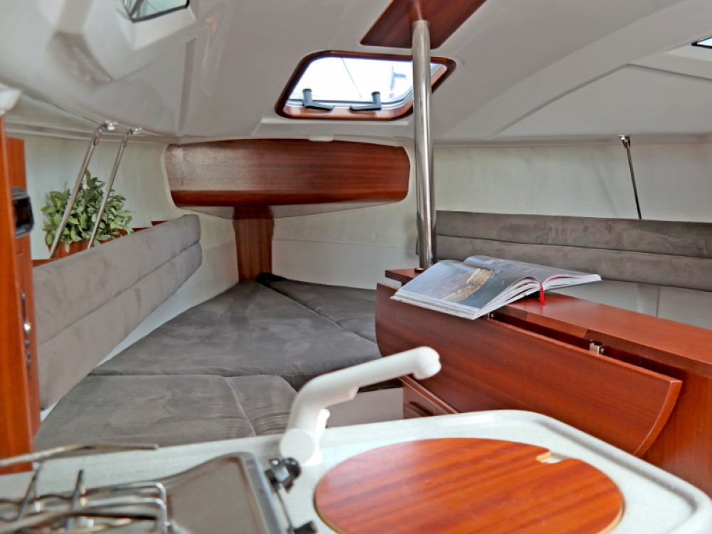 Rental Sailboat in Port PTTK Wilkasy - Northman Maxus 22 Prestige