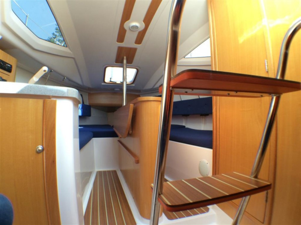 Hire Sailboat with or without skipper Northman Port PTTK Wilkasy