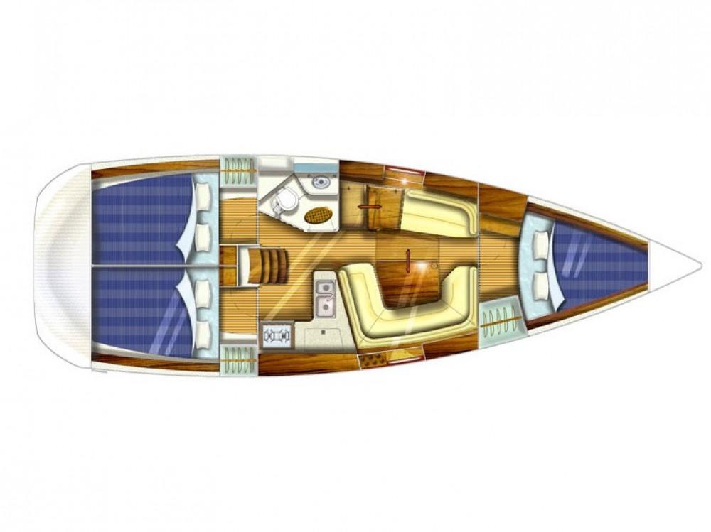 Rent a Jeanneau Jeanneau Sun Odyssey 35 Marina Gouvia