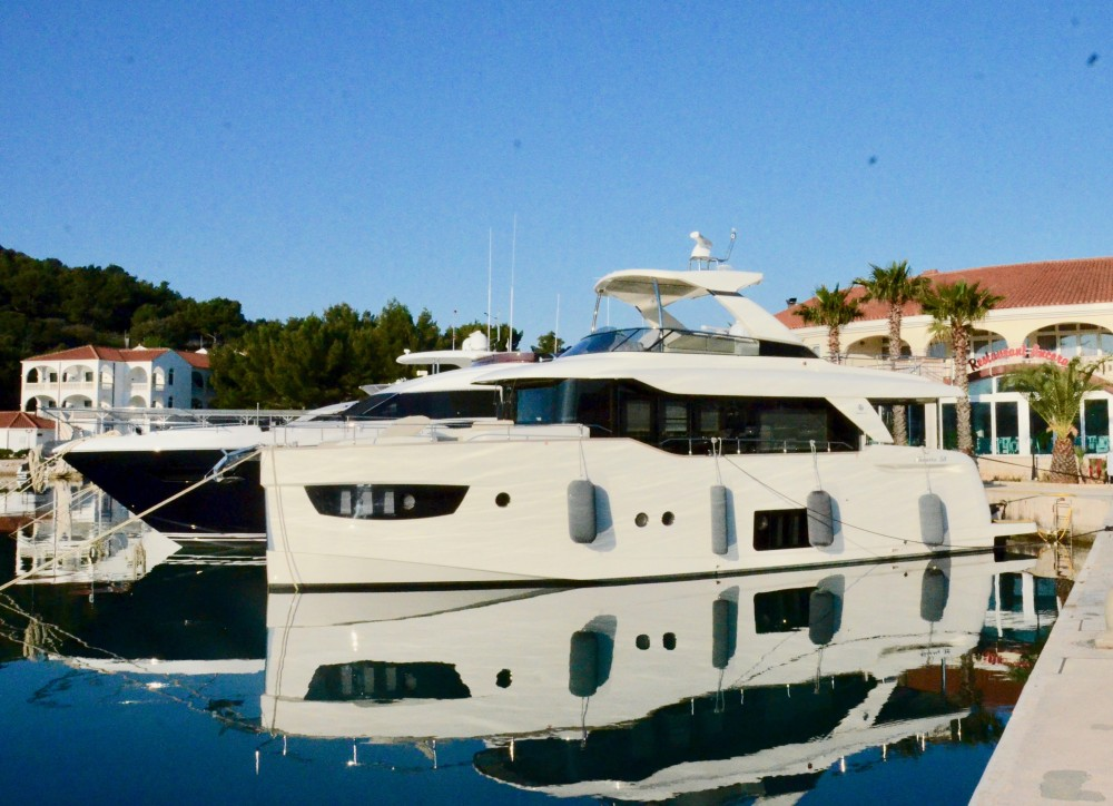 Absolute Navetta 58 between personal and professional Rogoznica