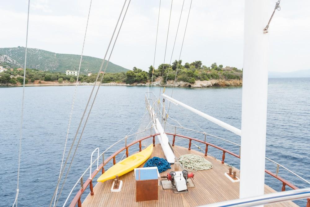 Rental Sailboat in Marina Gouvia -  Gulet Eros