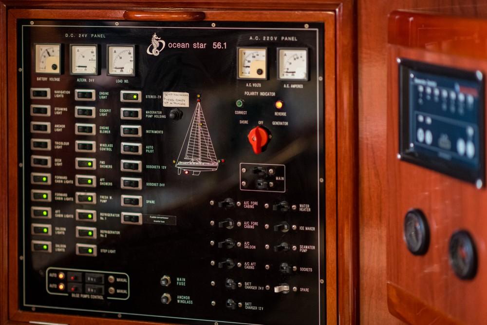 Rental yacht Álimos - Ocean Ocean Star 56.1 on SamBoat