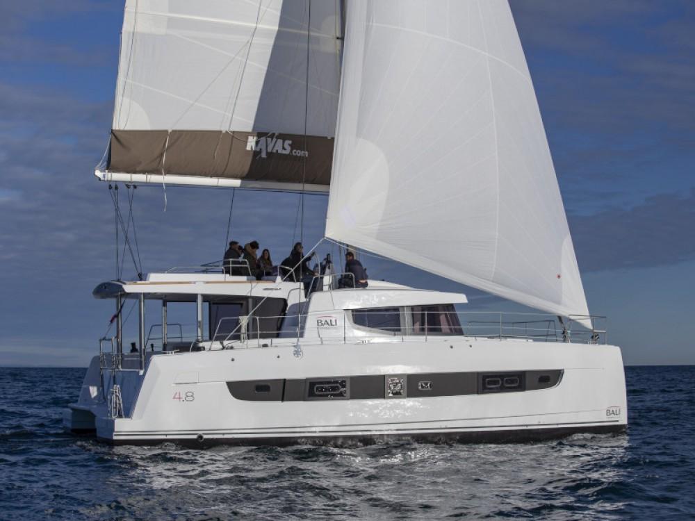 Catamaran for rent Sant Antoni de Portmany at the best price