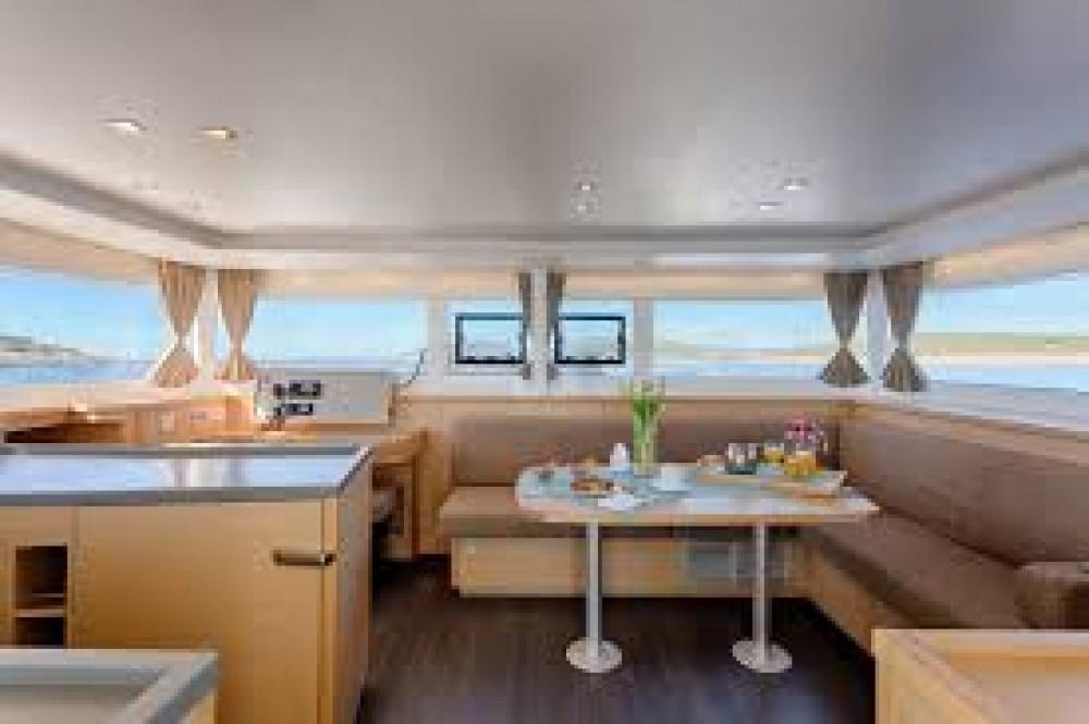 Rental yacht Marina Pirovac - Lagoon Lagoon 450  Flybridge on SamBoat