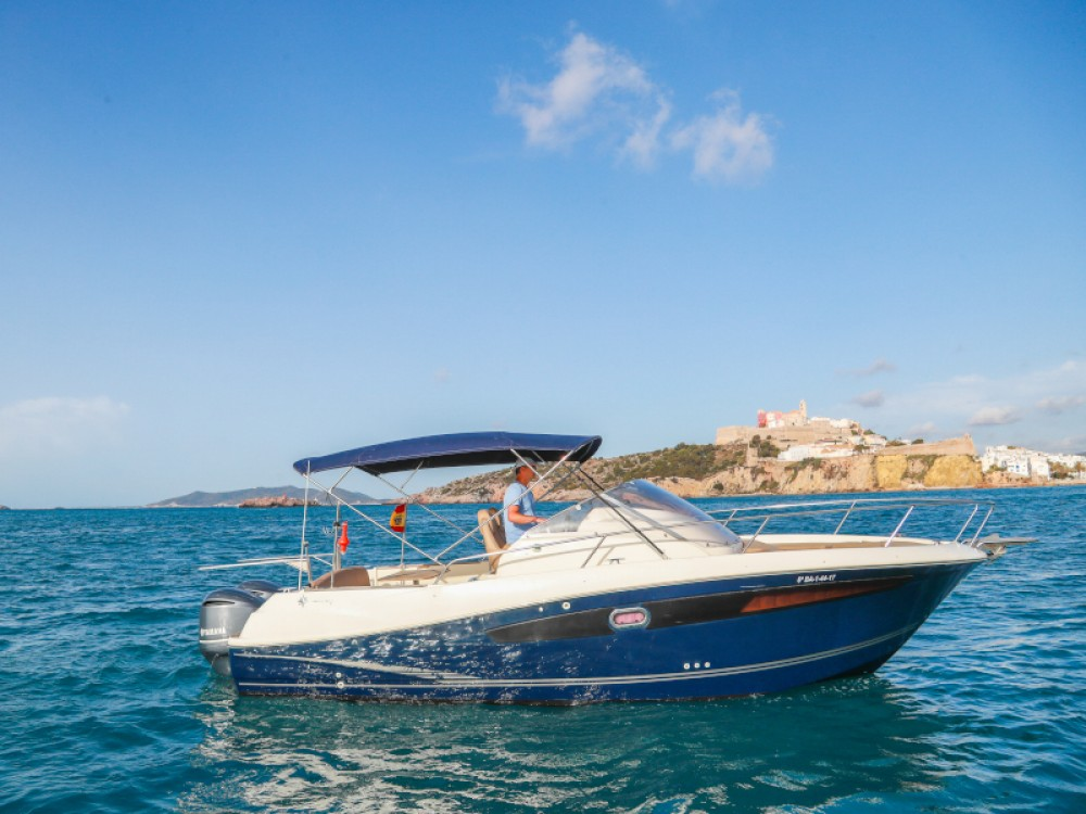 Boat rental Jeanneau Cap Camarat 8.5 WA in Ibiza on Samboat