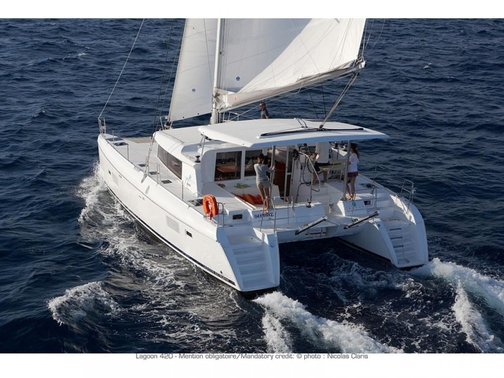 Boat rental Muğla cheap Lagoon 420