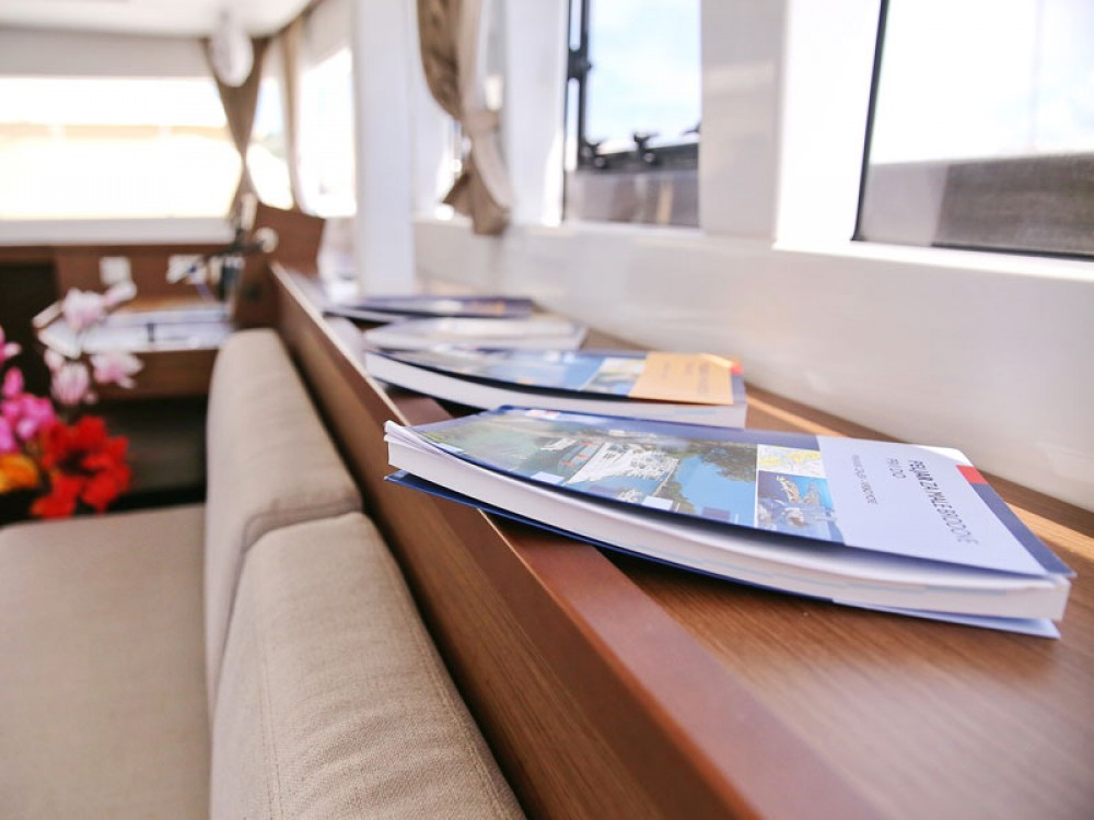 Boat rental Sukošan cheap Lagoon 450 F
