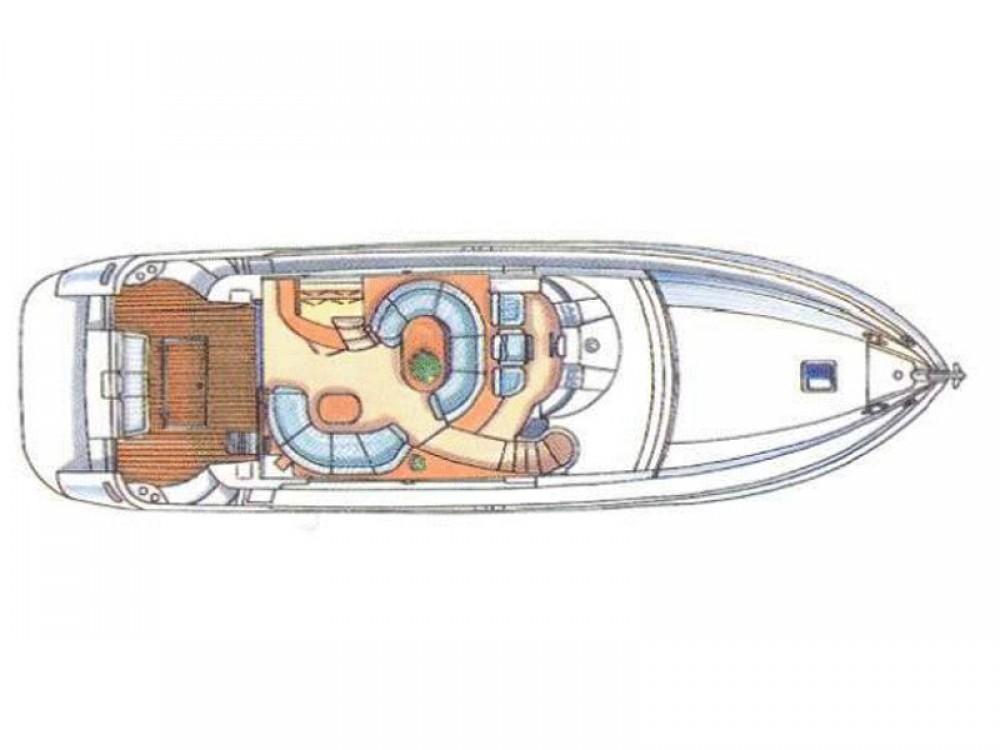 Boat rental Šibenik cheap Azimut 58