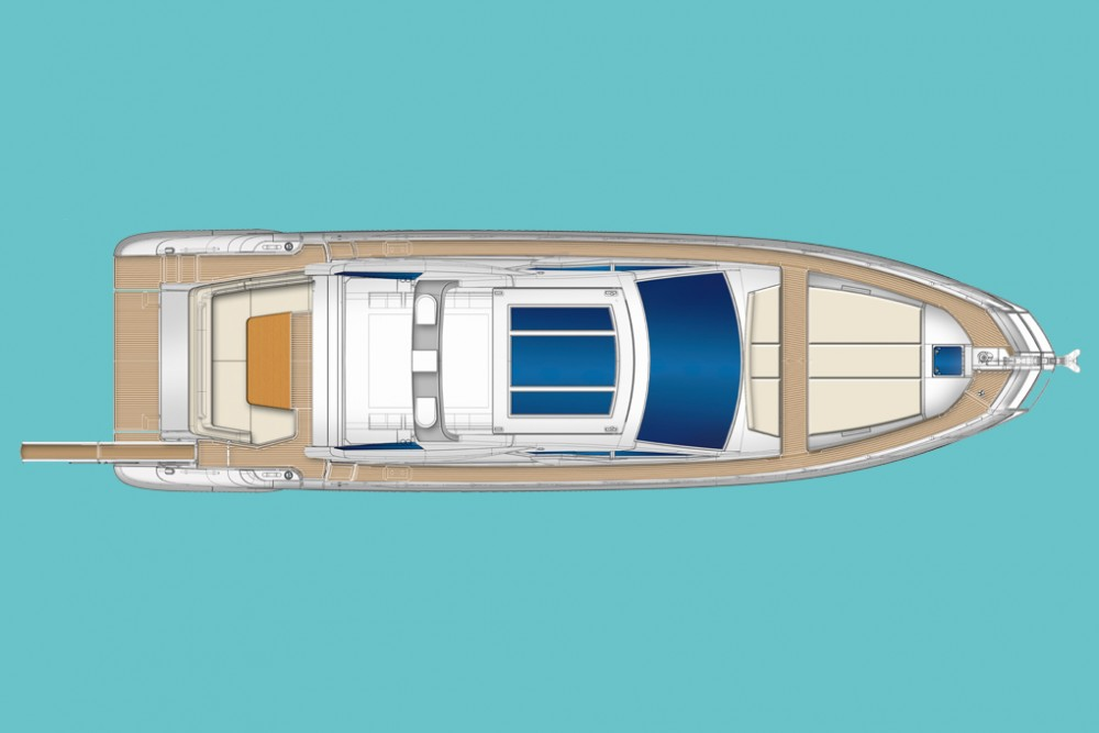 Boat rental Azimut Azimut 55 S in  on Samboat
