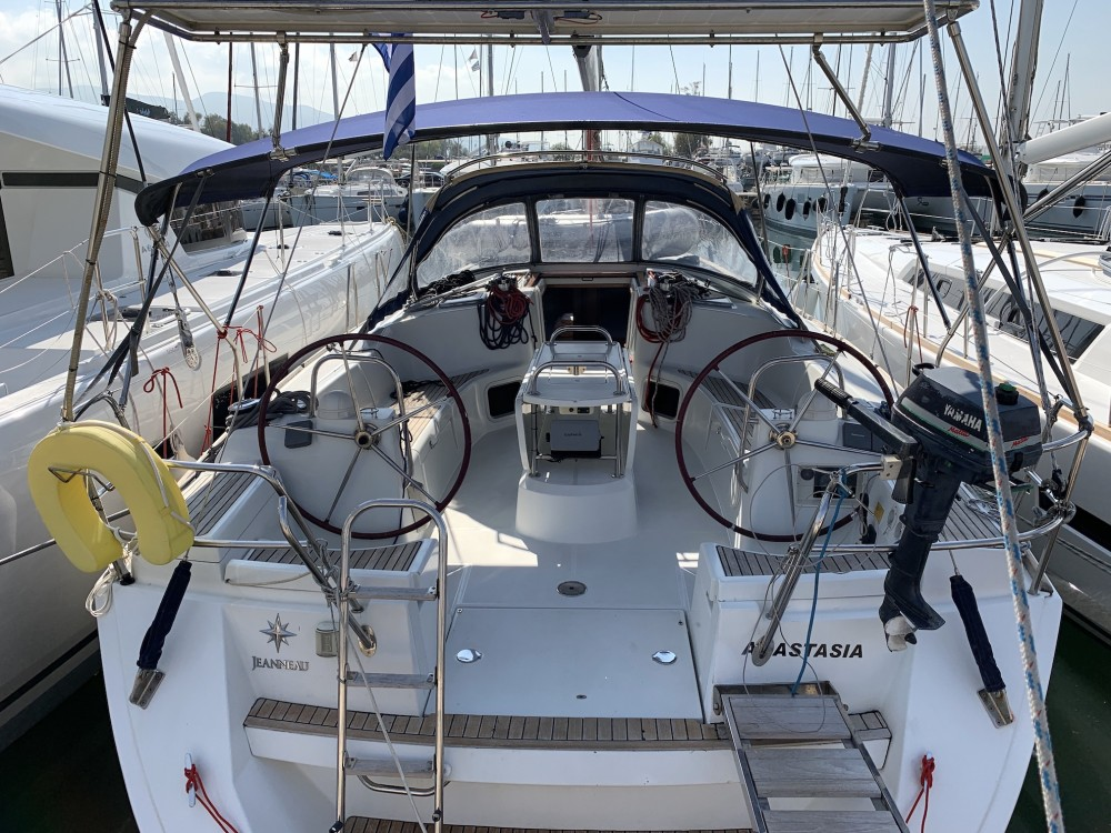 Jeanneau Sun Odyssey 44 i between personal and professional Alimos Marina