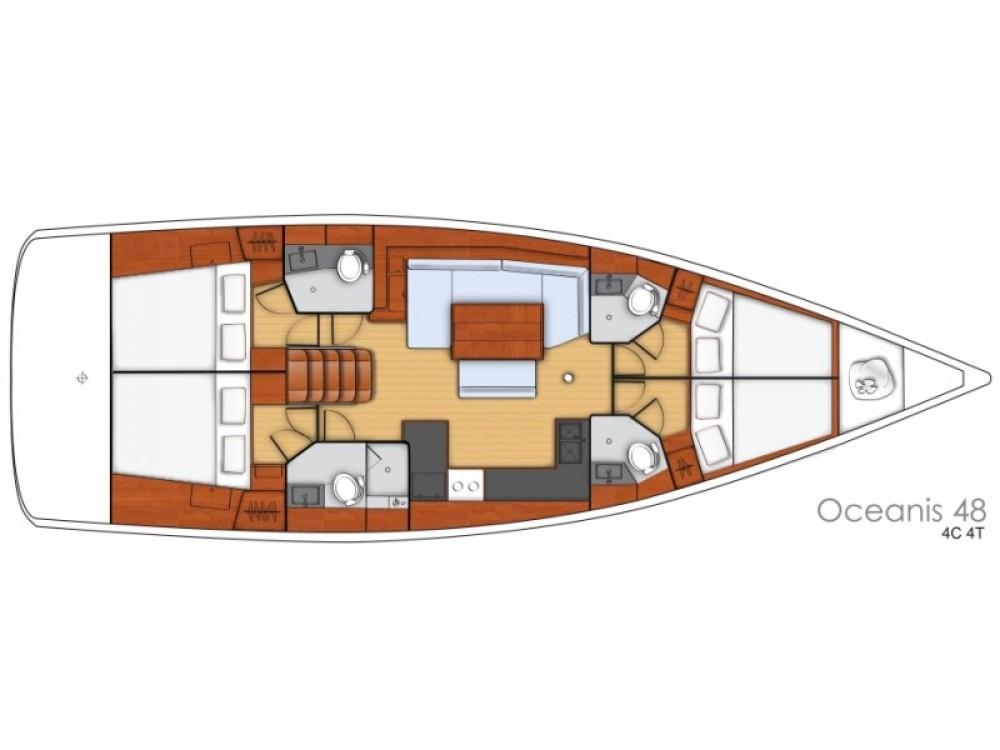 Boat rental Bénéteau Oceanis 48 in ACI Marina Split on Samboat
