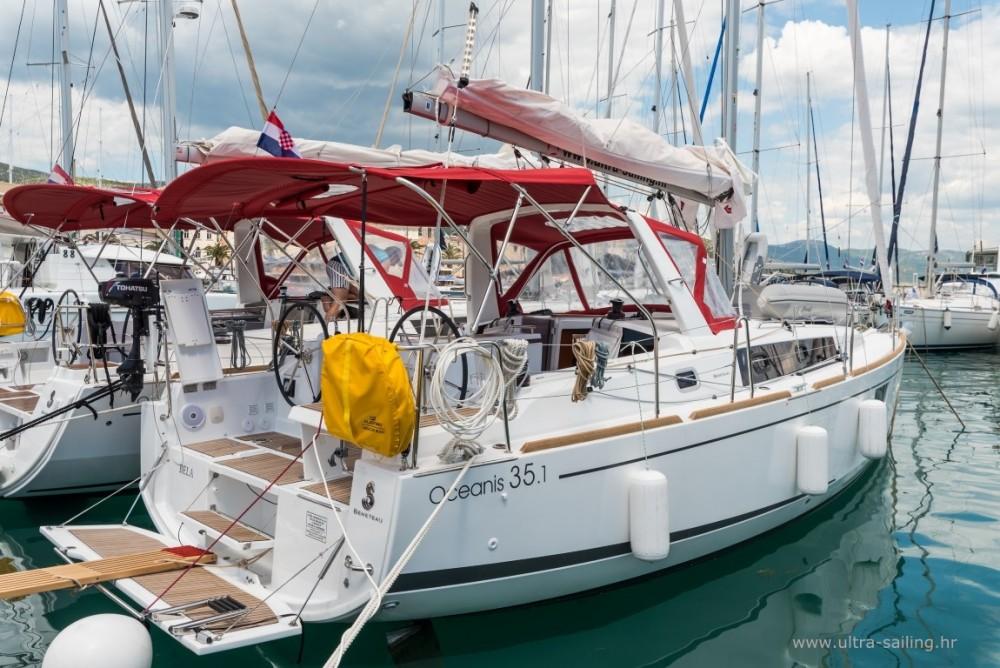 Boat rental ACI Marina Split cheap Oceanis 35.1