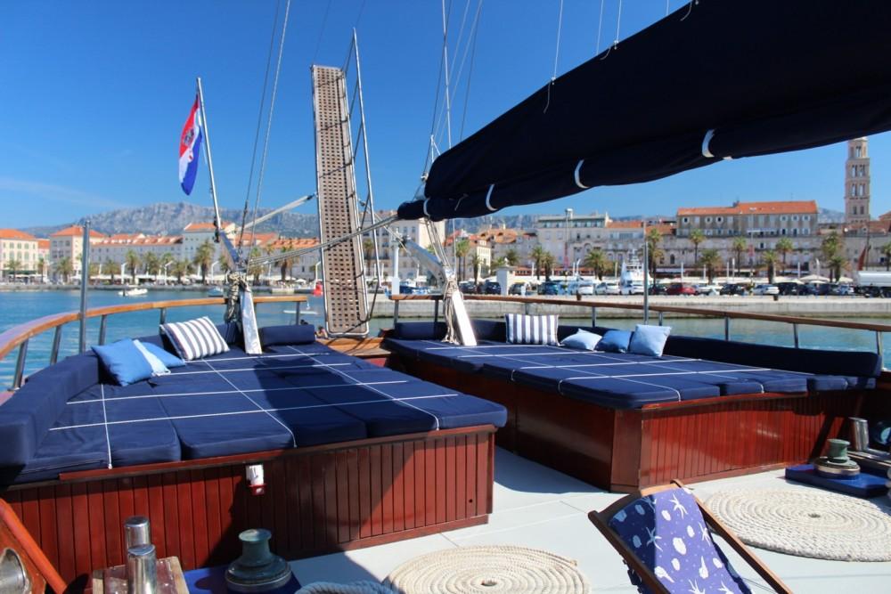 Rental Sailboat in Split -  Gulet Barba