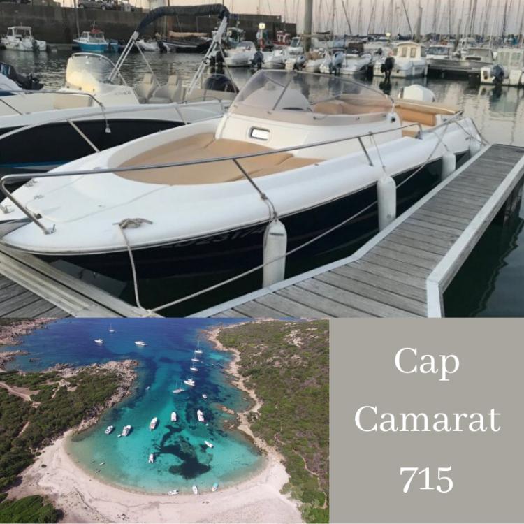 Boat rental Jeanneau Cap Camarat 715 WA in Serra-di-Ferro on Samboat