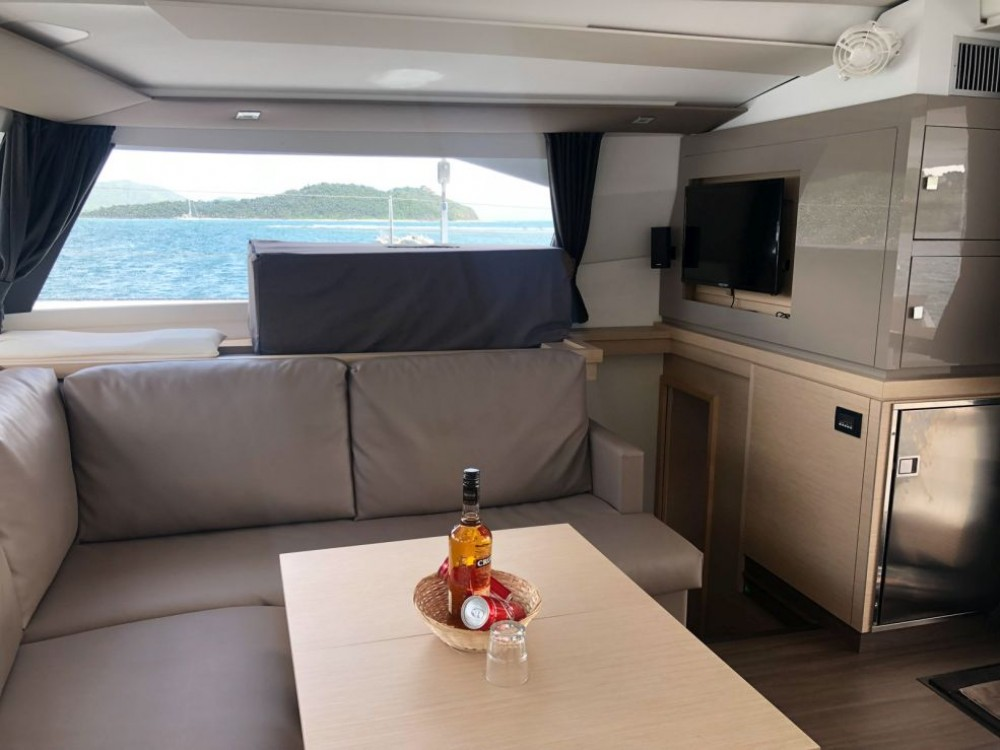 Fountaine Pajot Saona 47 Owner Version between personal and professional Road Town
