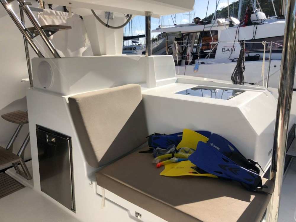 Fountaine Pajot Saona 47 between personal and professional Road Town