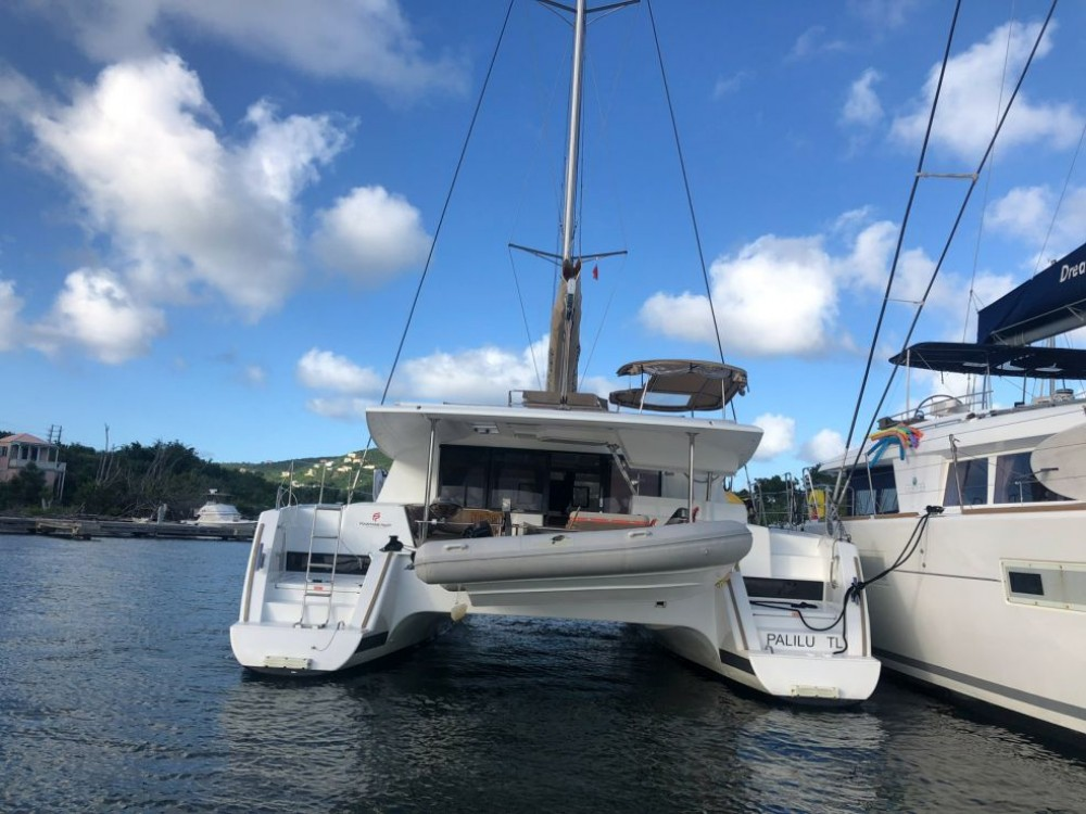 Rental Catamaran in Road Town - Fountaine Pajot Helia 44