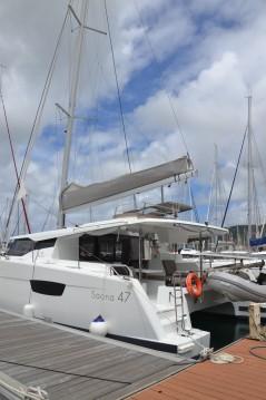 Boat rental Martinique cheap Saona 47