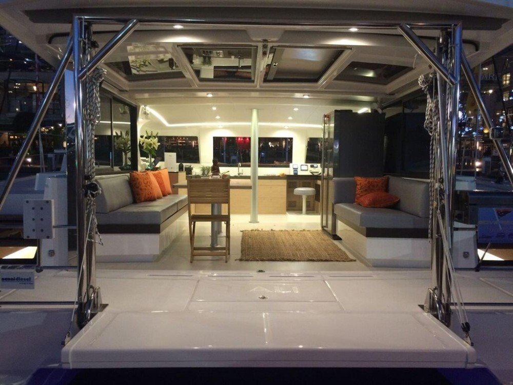 Catana Bali 4.3 between personal and professional Martinique