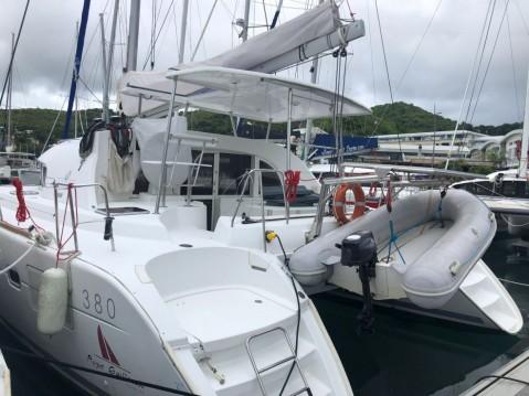 Boat rental Martinique cheap Lagoon 380
