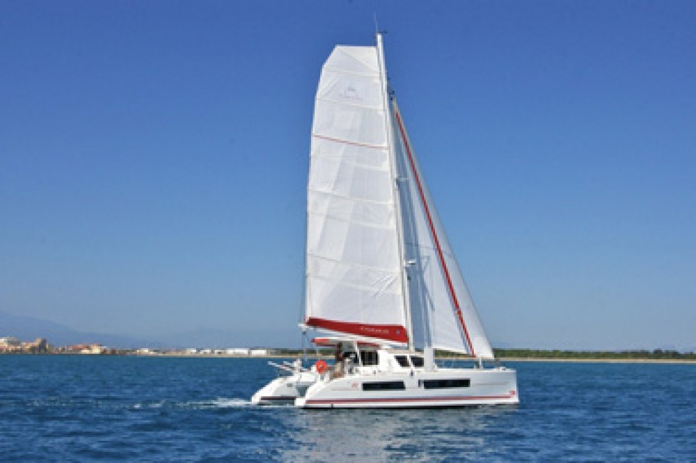 Hire Catamaran with or without skipper Catana Le Marin