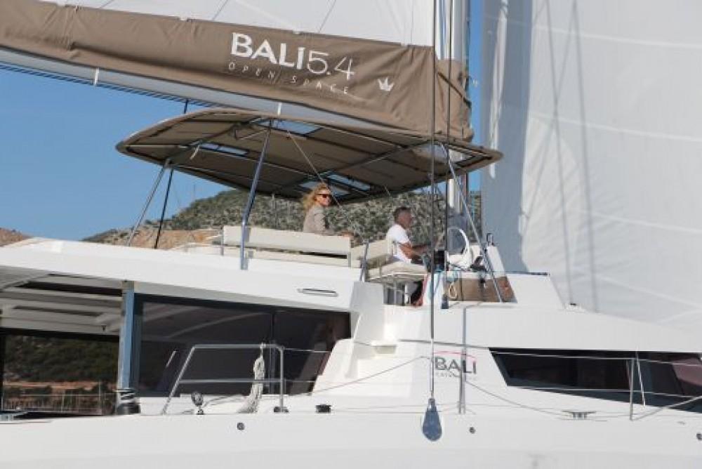 Bali Catamarans Bali 5.4 between personal and professional Saint Martin (France)