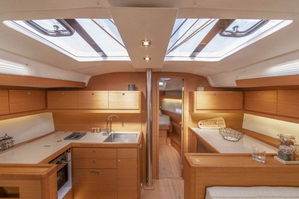 Rental Sailboat Dufour-Yacht with a permit