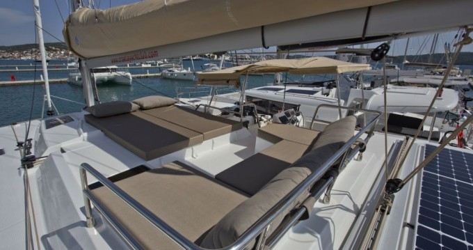 Fountaine Pajot Saona 47 between personal and professional Trogir