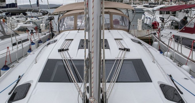 Boat rental Trogir cheap Elan 50 Impression