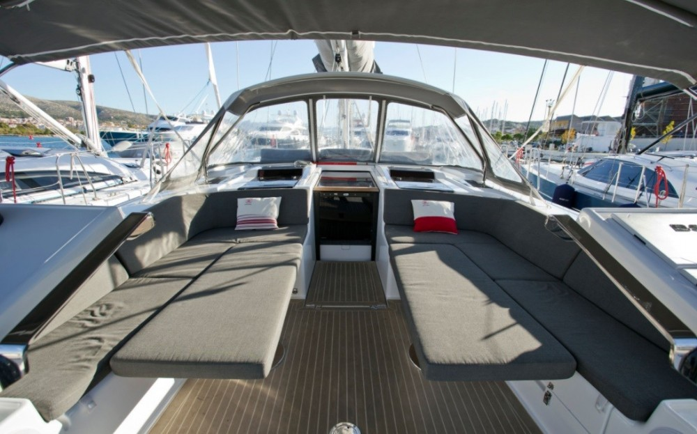 Boat rental Traù cheap Hanse 588